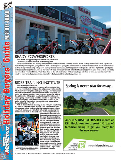 Inside Motorcycles - December 2014