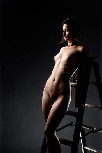 Ladder Nude 2